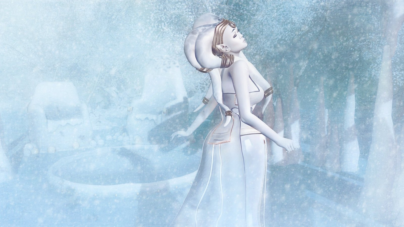 Winter Twi'lek