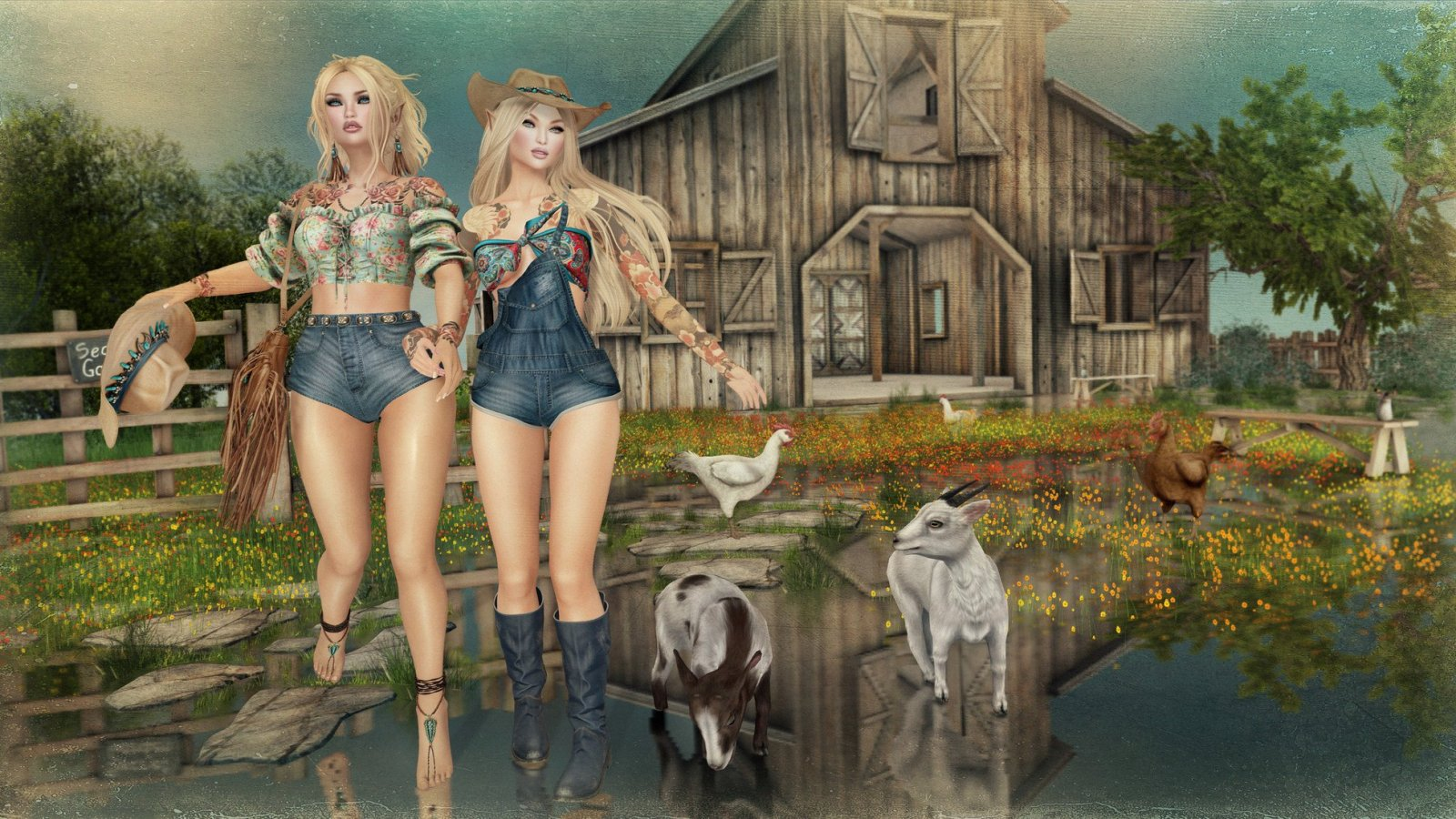 Boho Cowgirls