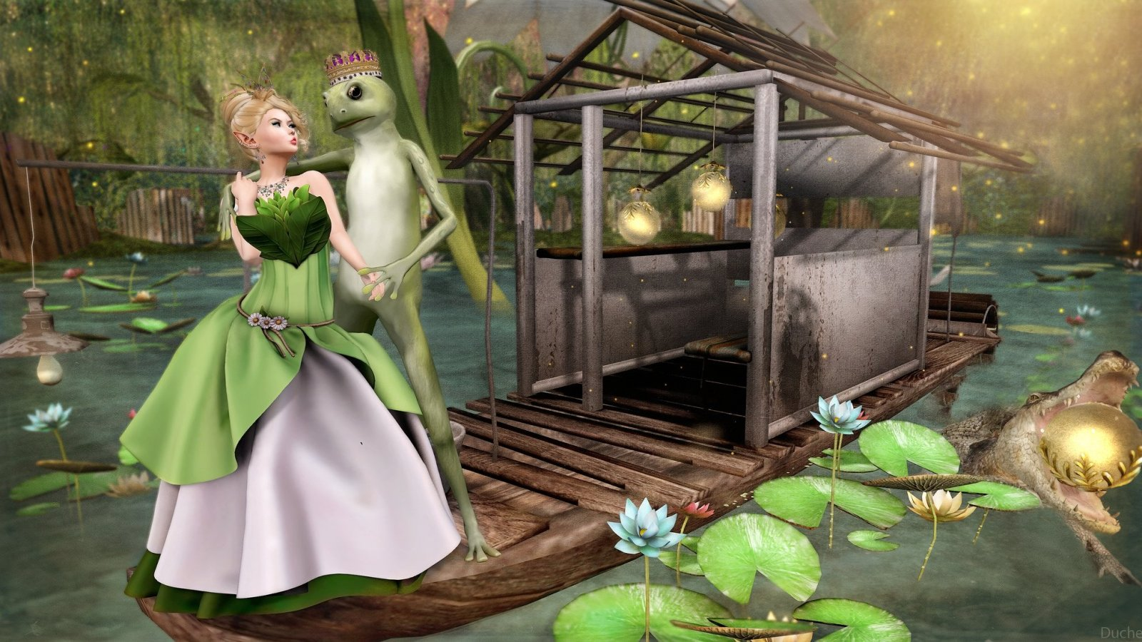 It was not a kiss that changed the frog….
