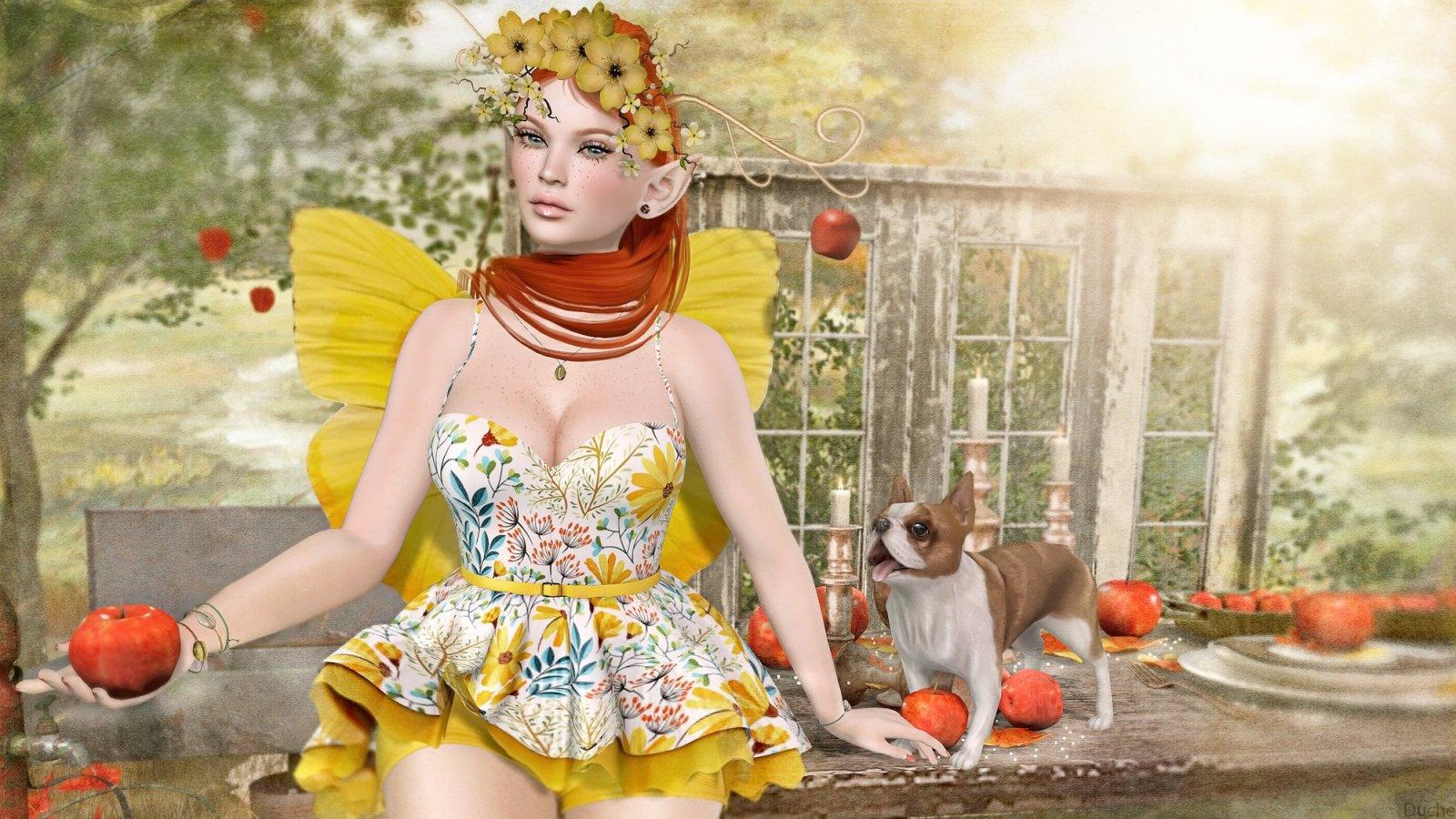 Apple Blossom Fae