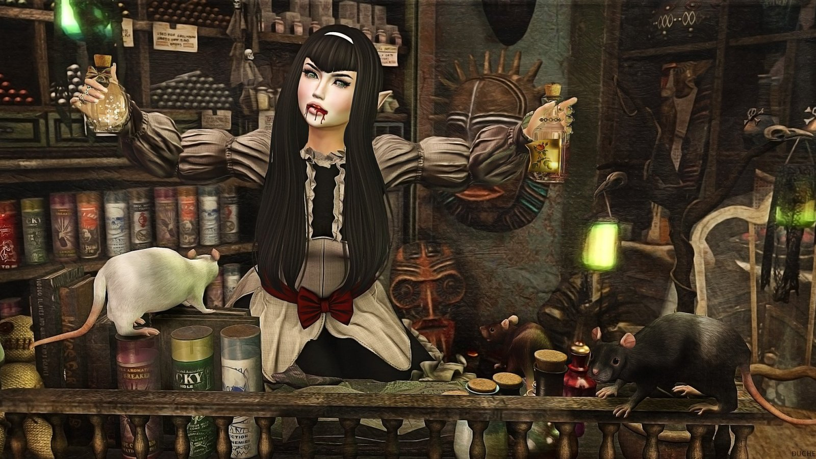 Madame Lecora has all your voodoo needs…..
