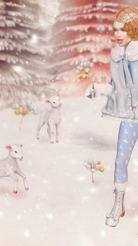 Fleece as White as Snow…
