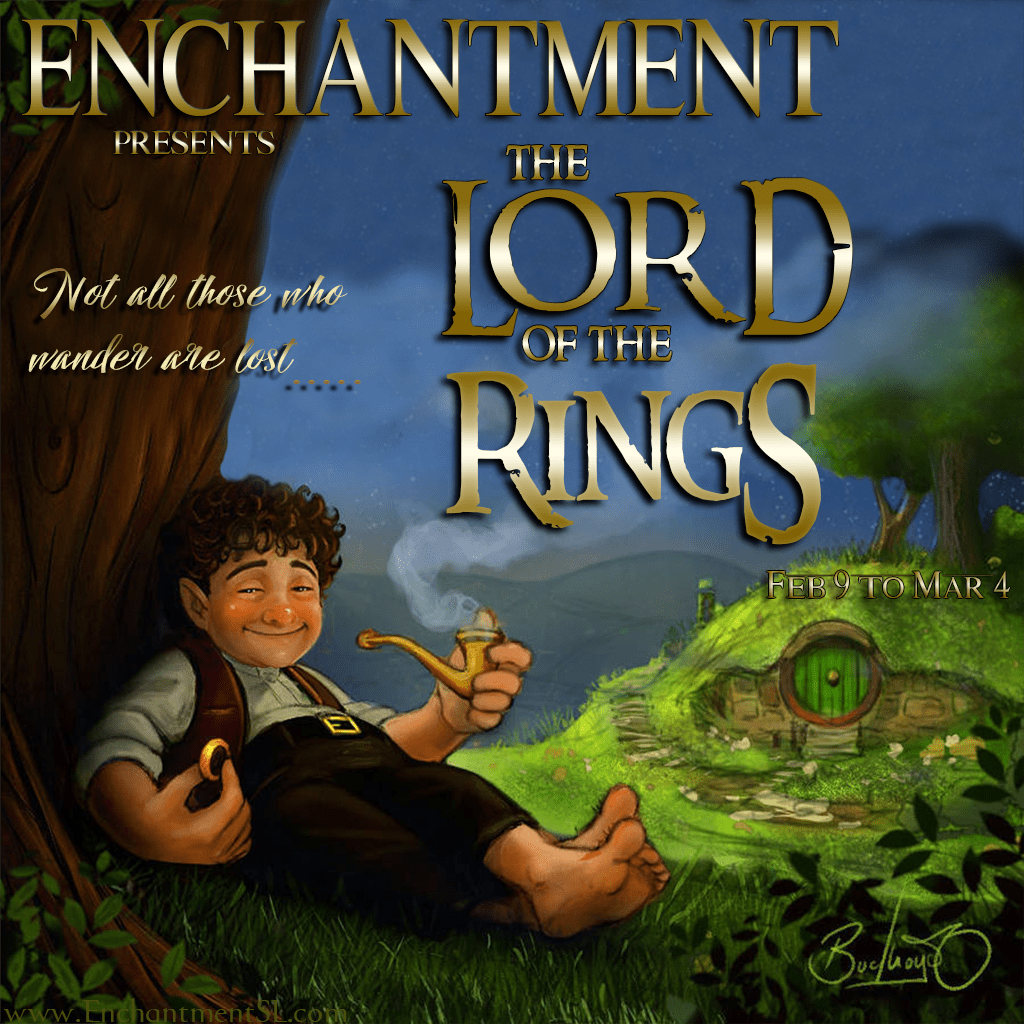 Enchantment ~ Lord of the Rings ~ Feb 2019