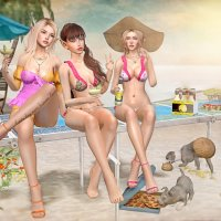 Belles of the Beach