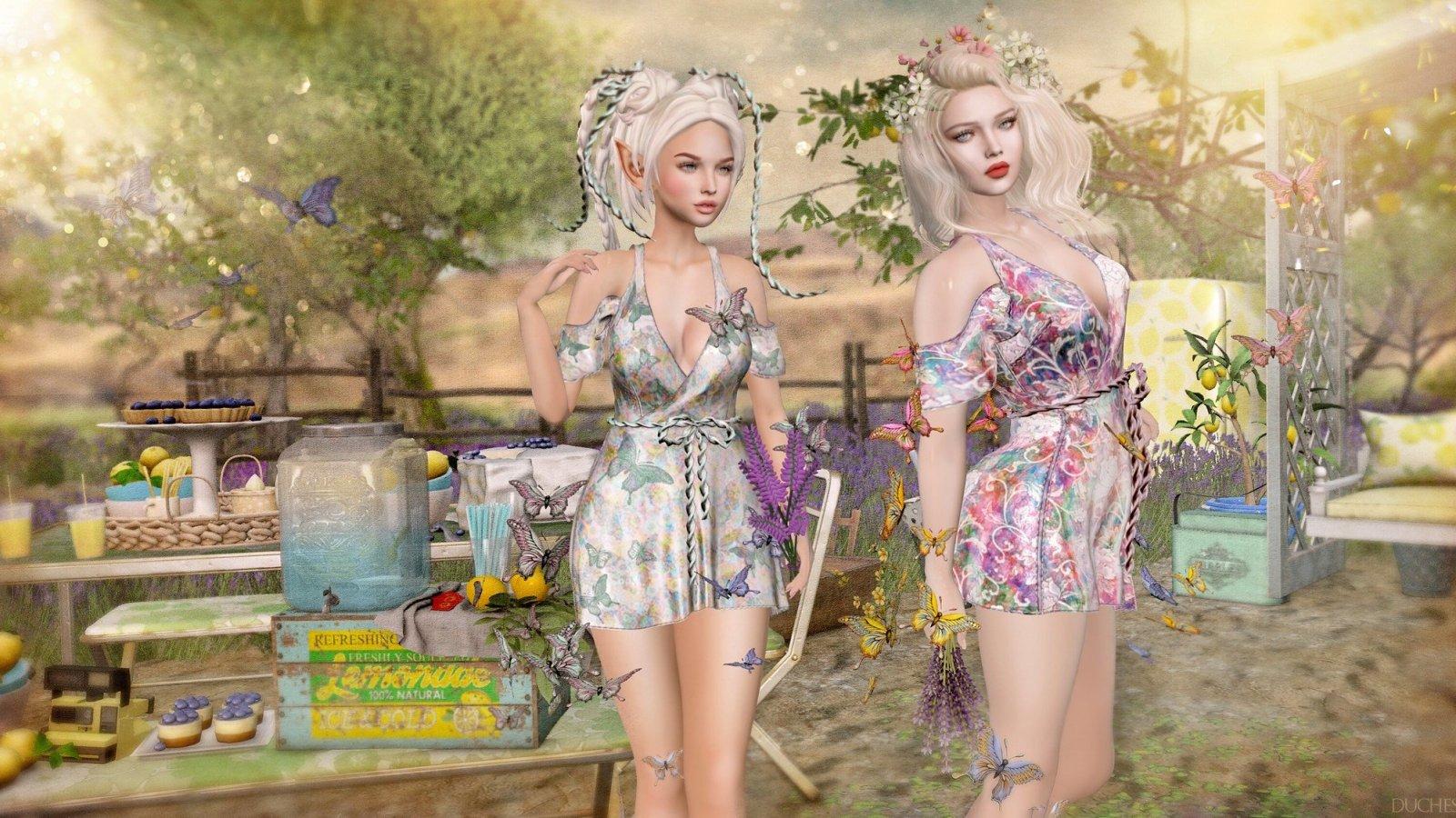 Lavender and Lemonade