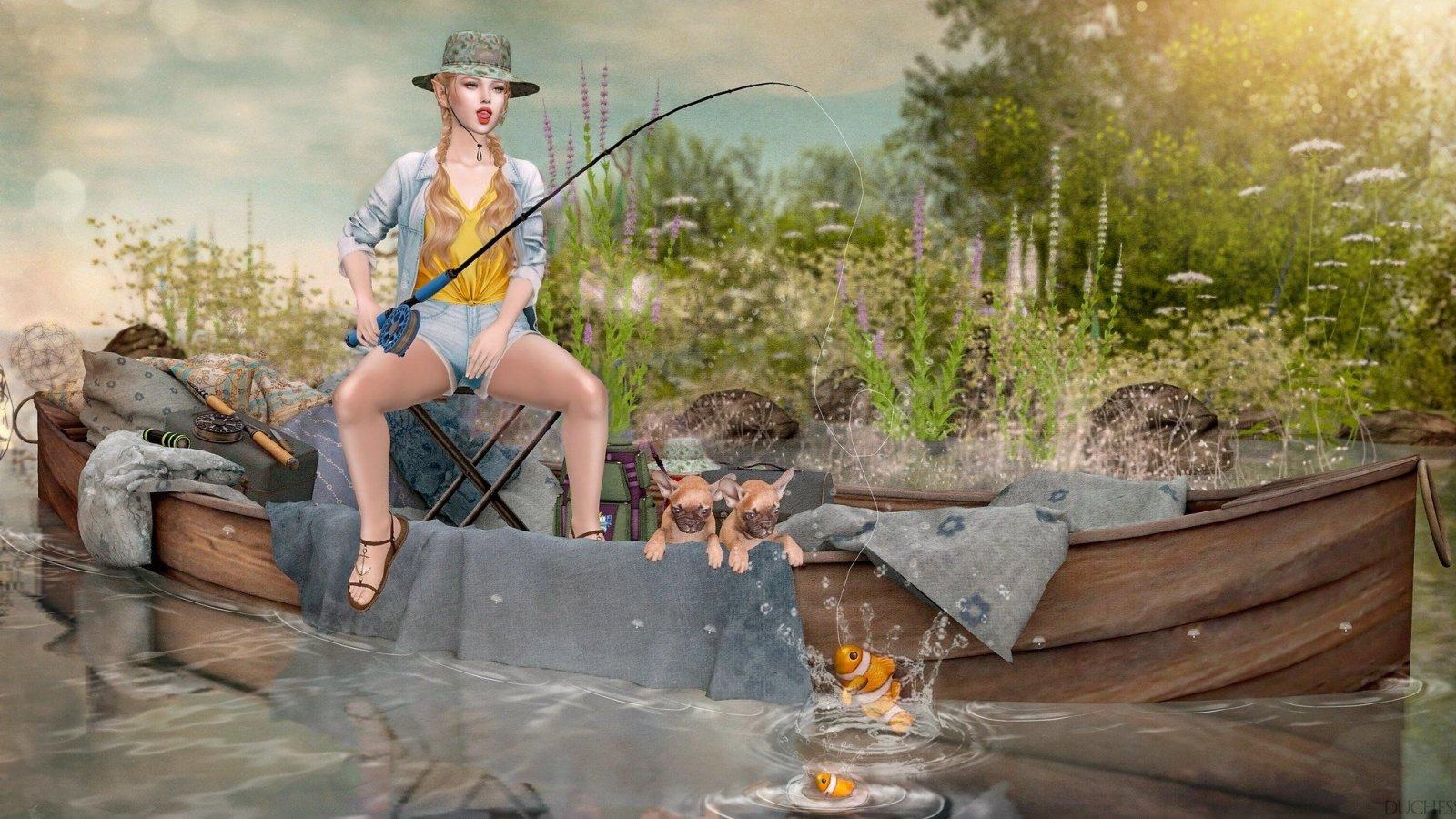 Mad Fishing Skills