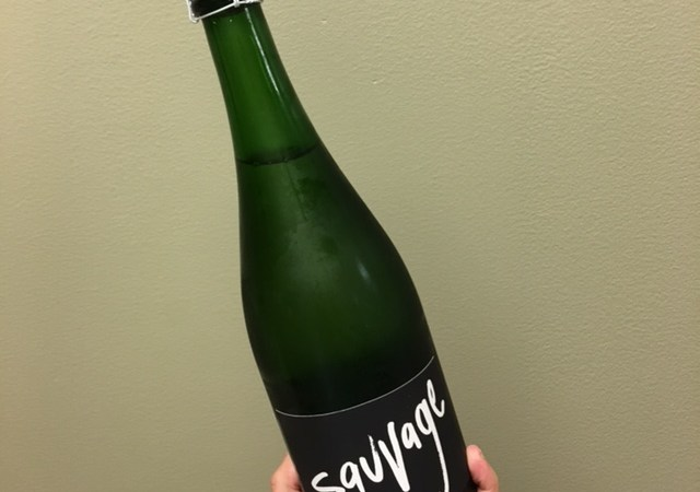 savage wine bottle of gruet winery
