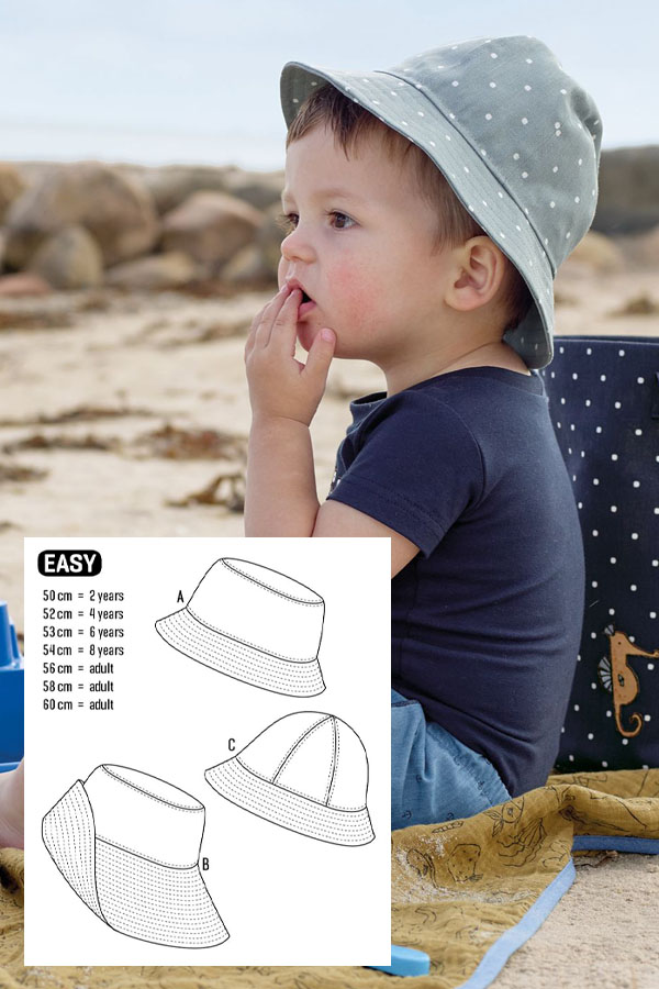 14 Bucket Hat Sewing Patterns For Women Men Baby 5 Free