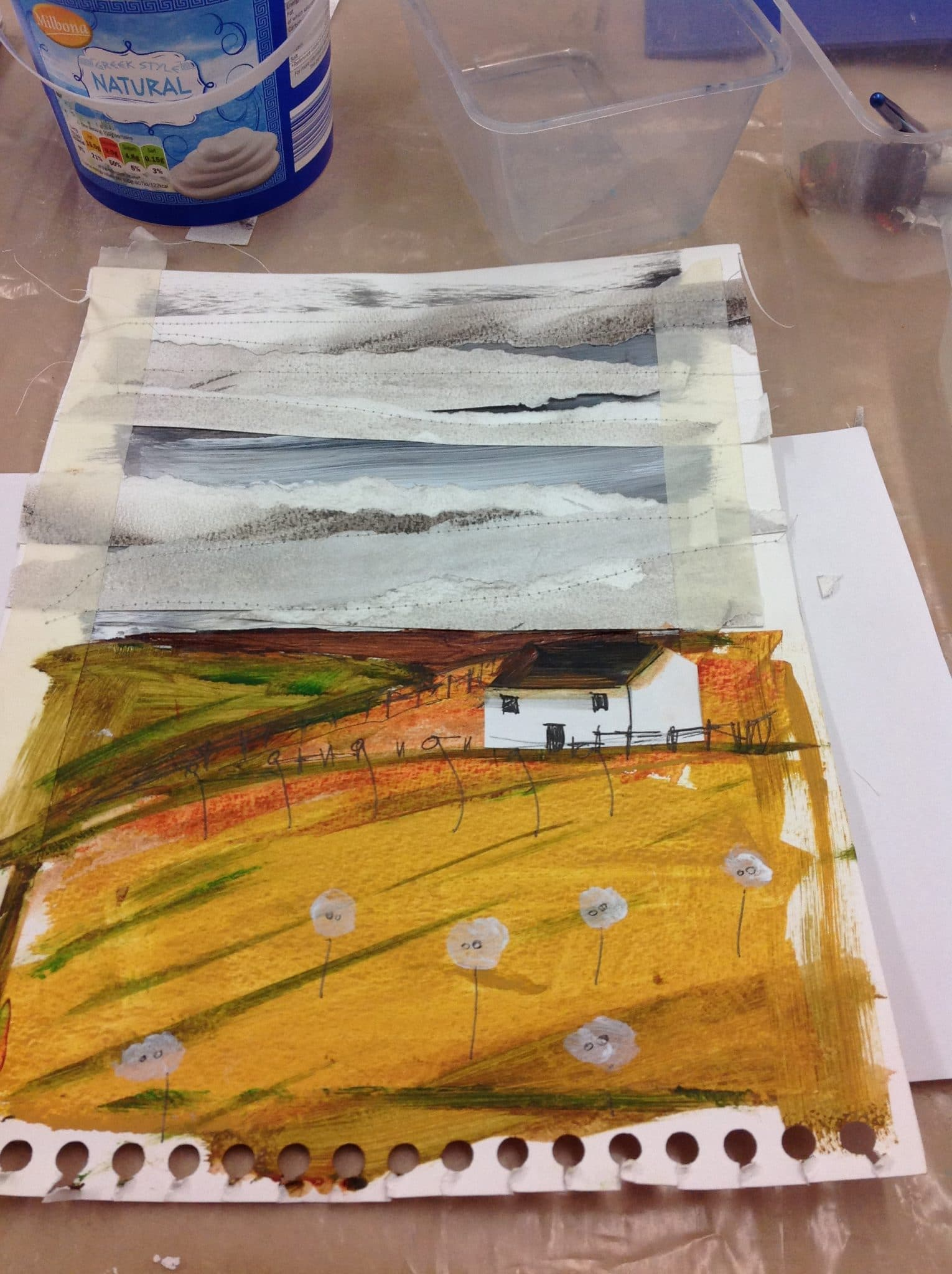 Deconstructed Exmoor Landscapes (SAW)