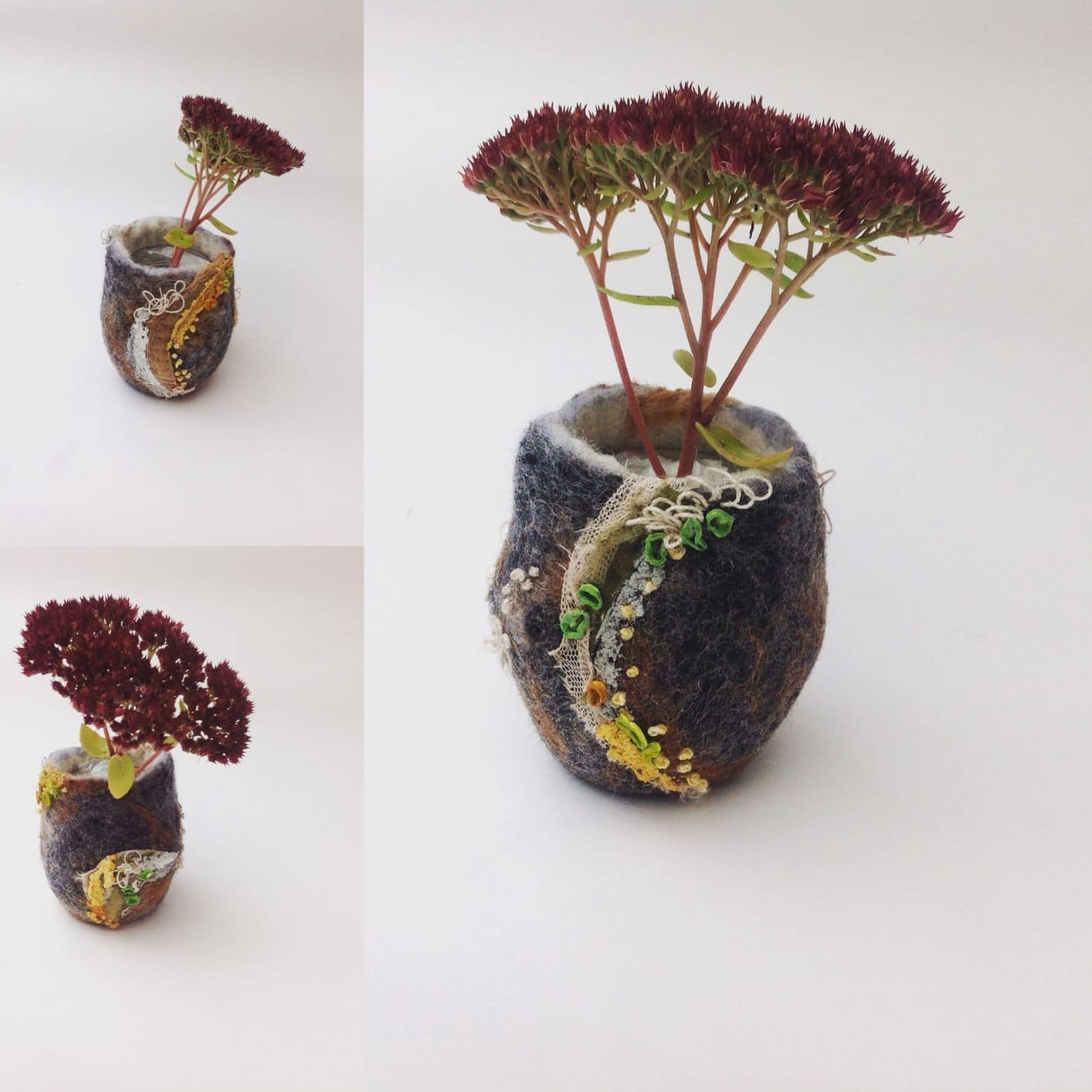 'A Felted Vessel – introduction to 3D wet felting'