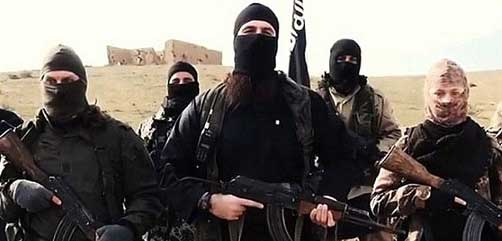 Islamic State spokesman threatening western targets - ALLOW IMAGES