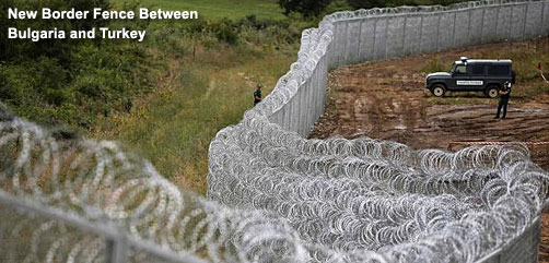Bulgaria - Turkey Border Fence - ALLOW IMAGES