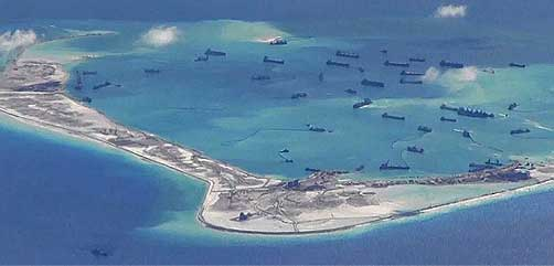 Chinese Island Reclamation - ALLOW IMAGES