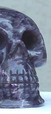 Crystal Skull half
