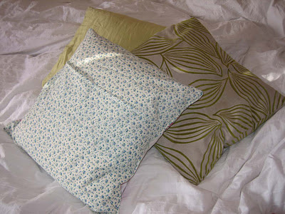 free easy cushion cover pattern, free easy pillow pattern, make your own cushion cover, easy to sew cushion cover, easy to sew pillow cover