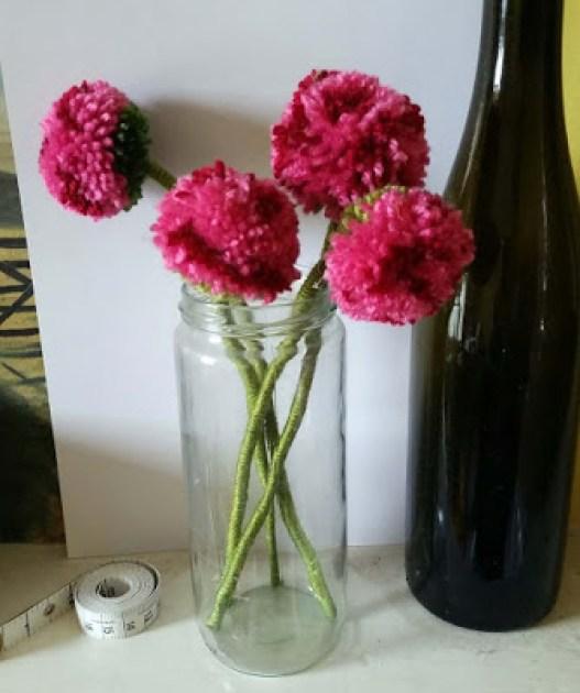 pompom rose,