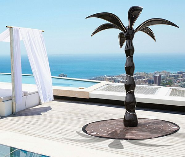 Folding Outdoor Shower