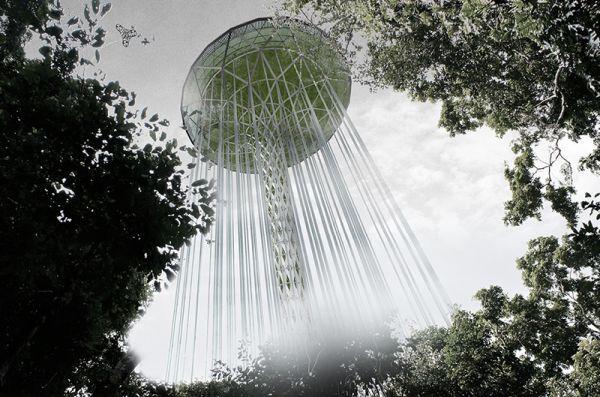 Rainforest Guardian Skyscraper