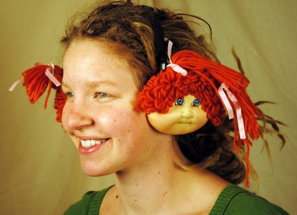Cabbage Patch Earmuffs