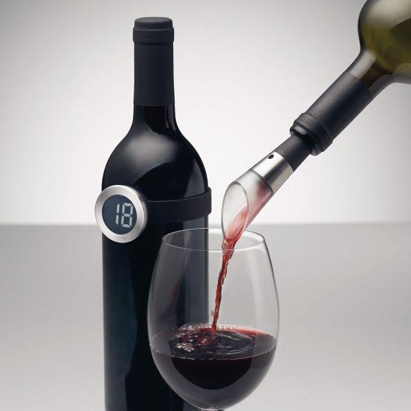 Menu Fahrenheit wine thermometer