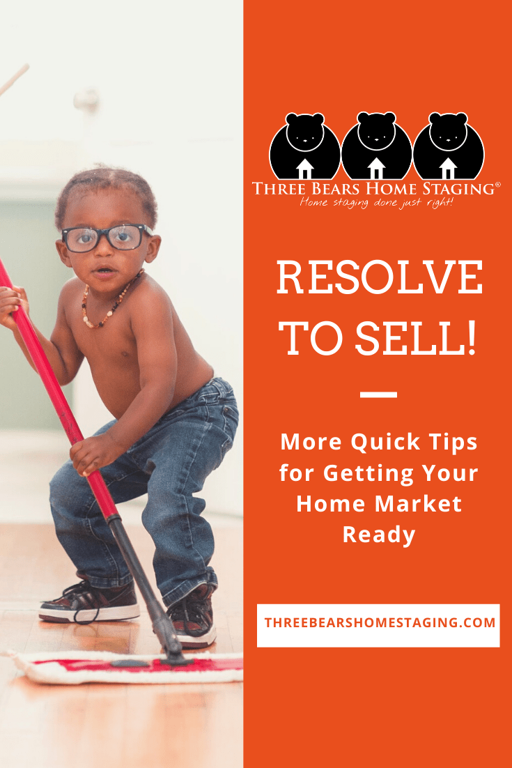 resolve to sell market ready tips