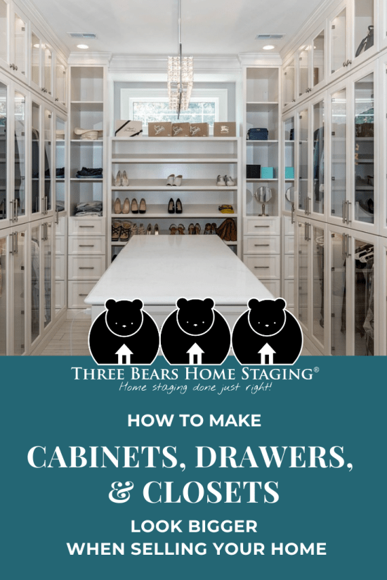 Cabinets Drawers Closets Look Bigger