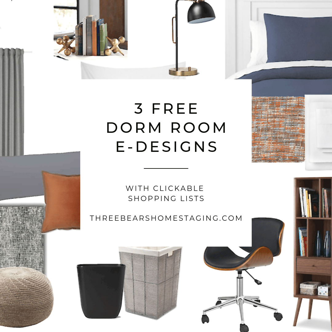 FREE e-Design Board: Dorm Room Decor and Ideas
