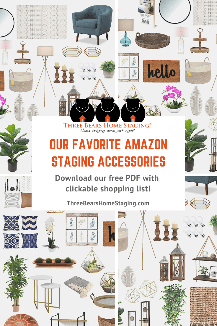 free amazon favorite home staging accessories