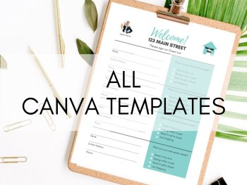 All Canva Templates