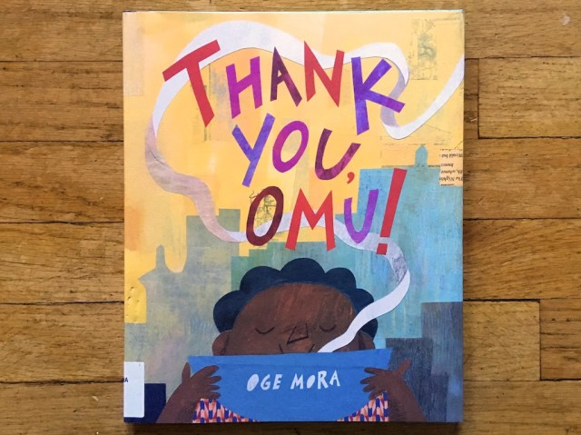Book Review Thank You Omu By Mora Three Books A Night