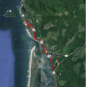Three Capes Relay, Cape Meares to Pacific City Marathon Relay