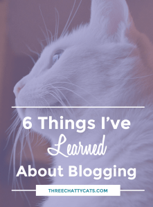 6 Things I've Learned About Blogging
