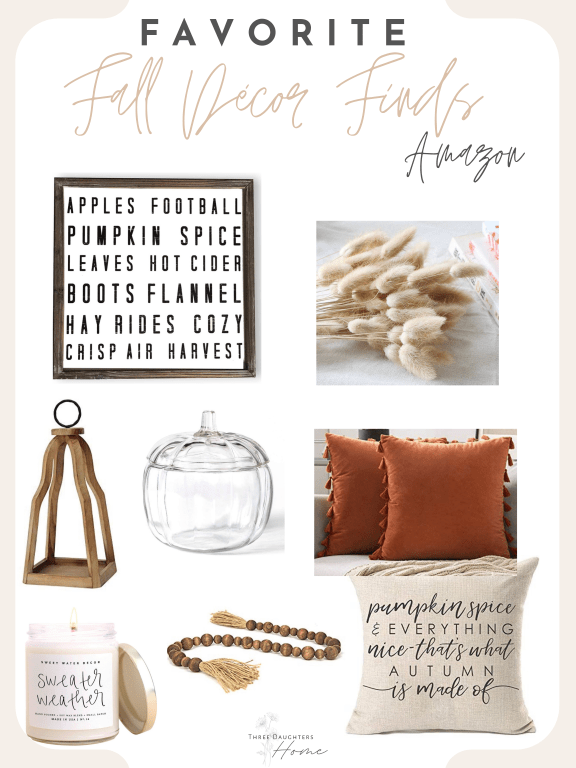 my favorite Amazon fall décor items