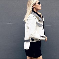 Stylist Eimear Varian Barry wears the AW15 Influx jacket
