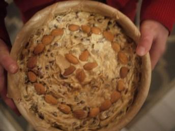 "Helen's ""almond design""."