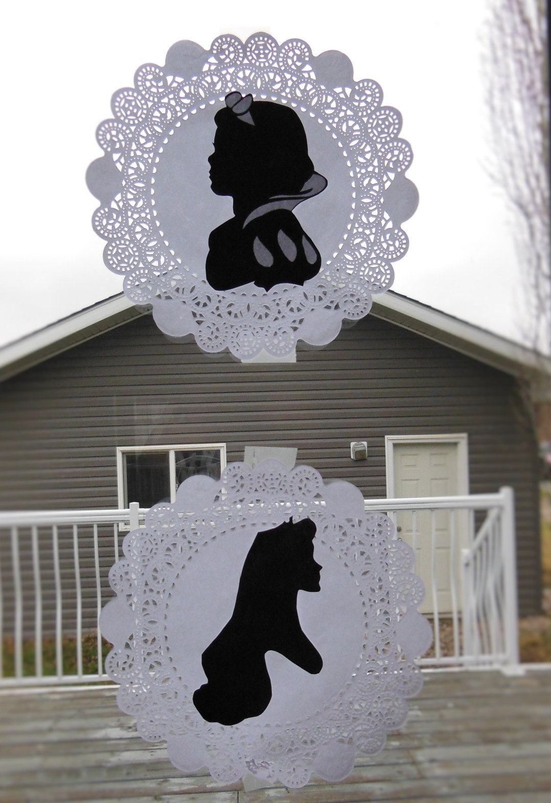 Vintage Princess Party - Princess Silhouettes