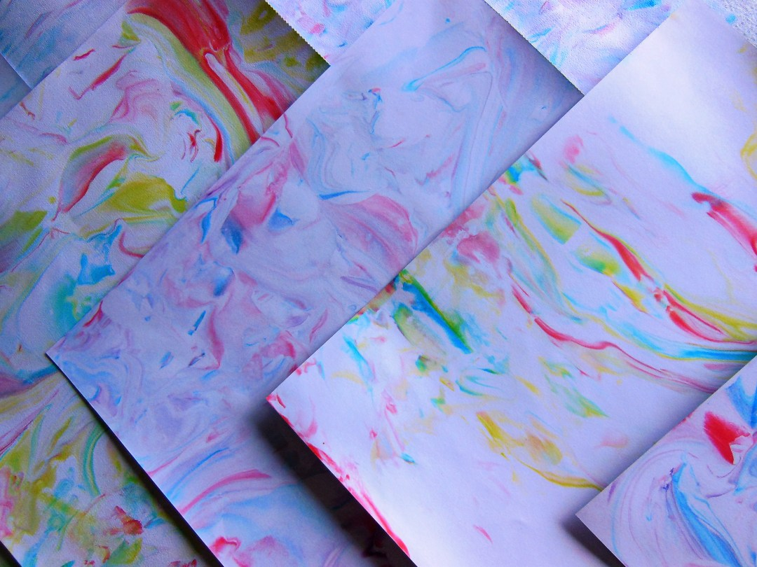 Handcrafted Marble Paper