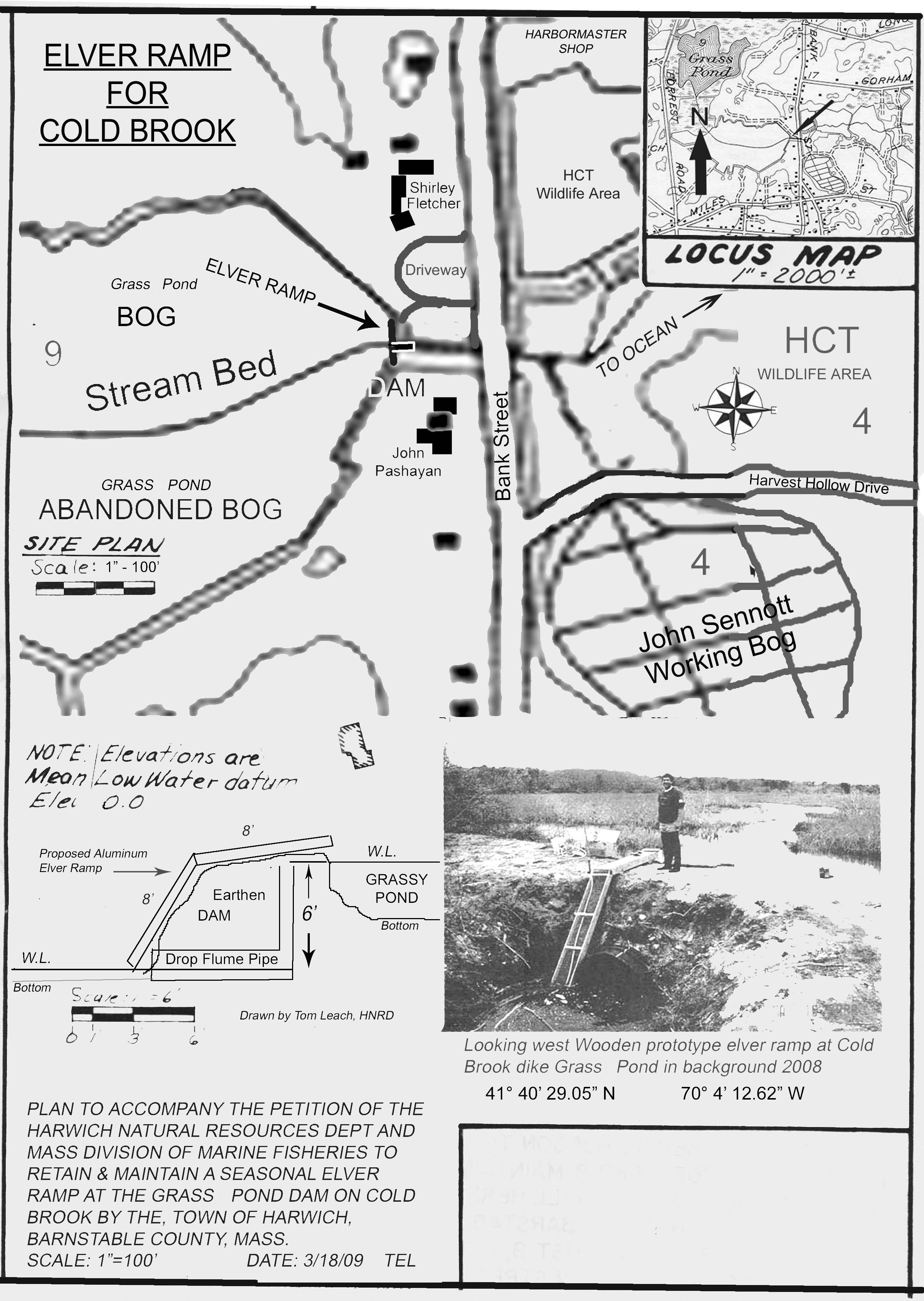 Grass Pond Eel Ramp Summary Report
