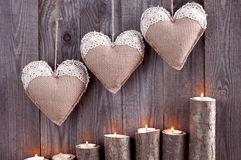 hearts and candles picture