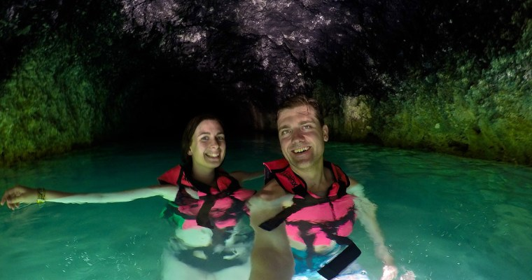 Discovering Underground Rivers at Xcaret Park, Playa del Carmen