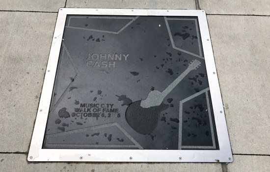 Johnny Cash Country Music Walk of Fame
