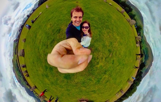 360 at Castlerigg stone circle