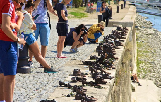 Budapest - Shoes on the Danube bank