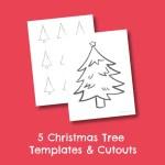 Free Printable Christmas Tree Templates And Cutouts