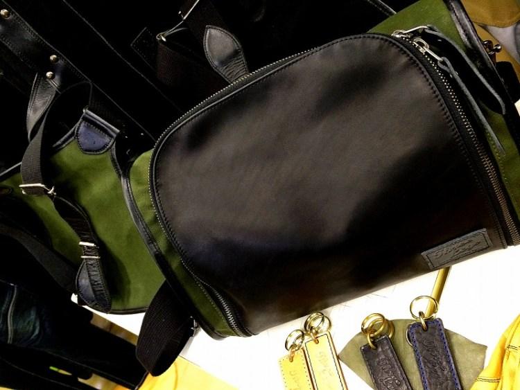 帆布トラピジウムバッグ