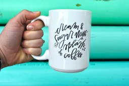 Cream and Sugar Mug, $18