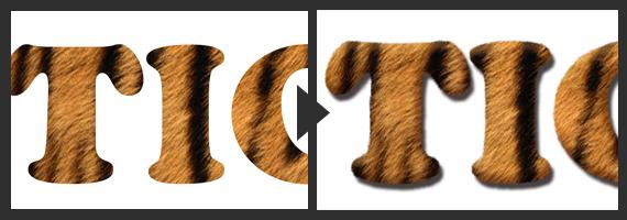 動物の毛っぽく