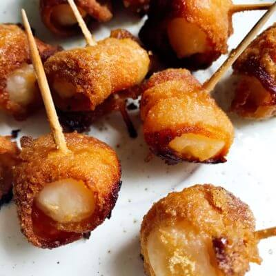 Bacon Water Chestnuts Recipe