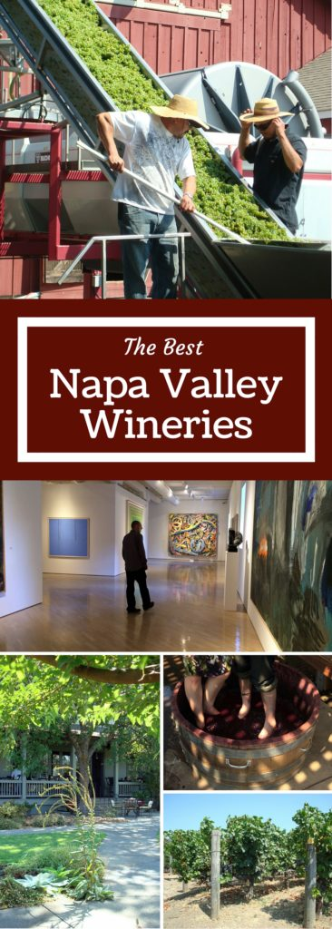 The Best Napa Valley Wineries - A collection of our favorite sites from all the visits we have made to wine country. | Three Olives Branch