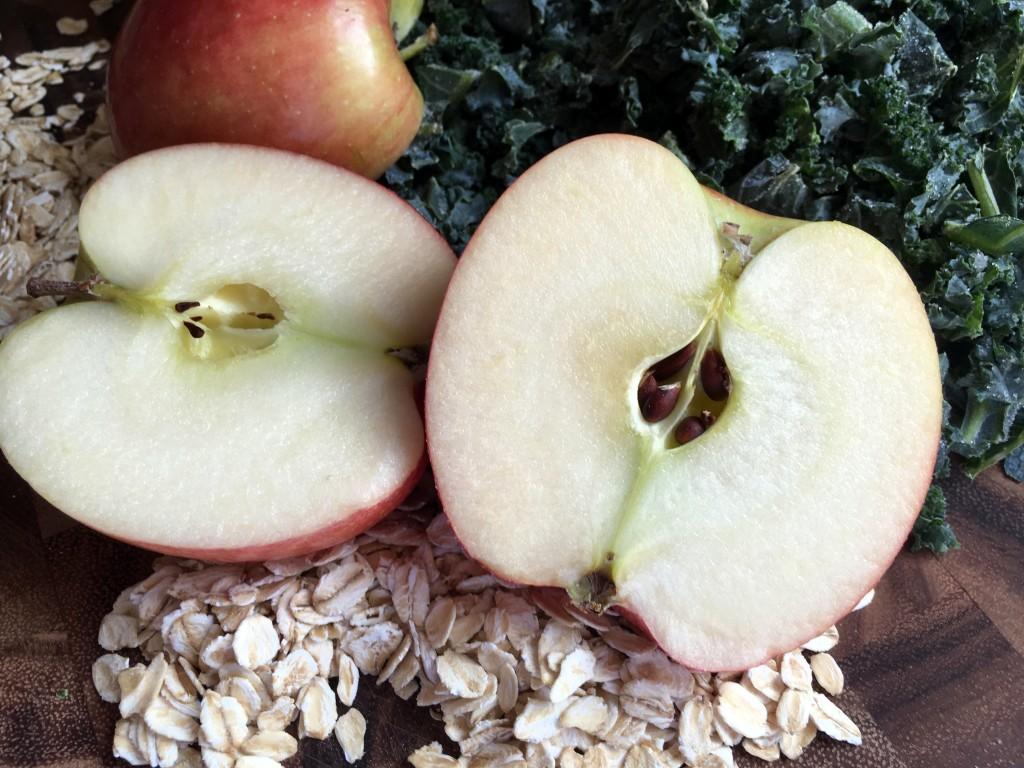Kale, Apple, and Oat Dog Treats | Three Olives Branch